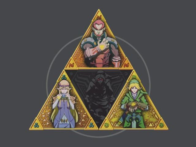 "It's the Triforce from ""The Legend of Zelda""!"