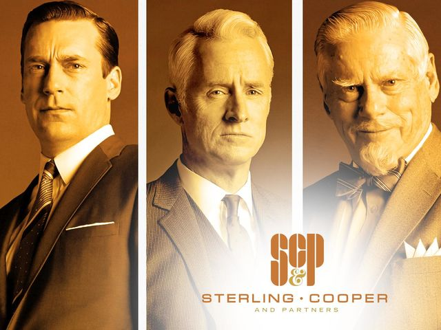 "It's Sterling Cooper & Partners from ""Mad Men""!"
