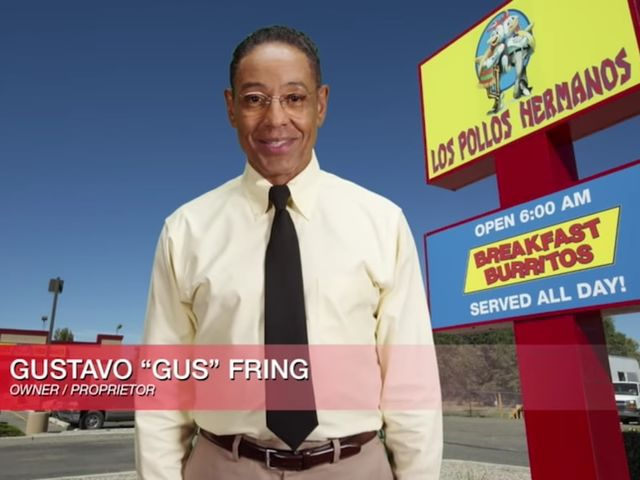 "It's Los Pollos Hermanos from ""Breaking Bad""!"