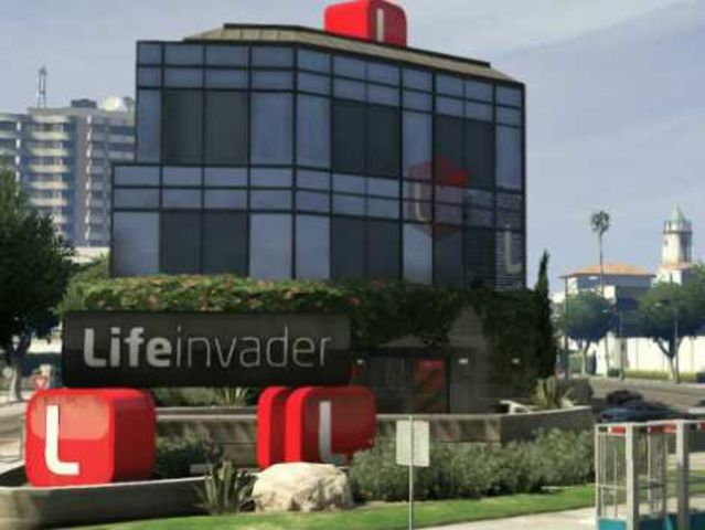 "It's the Lifeinvader logo from ""Grand Theft Auto V""!"