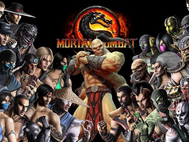 It's Mortal Kombat!