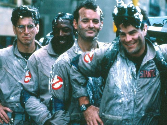 "It's the ""Ghostbusters""!"
