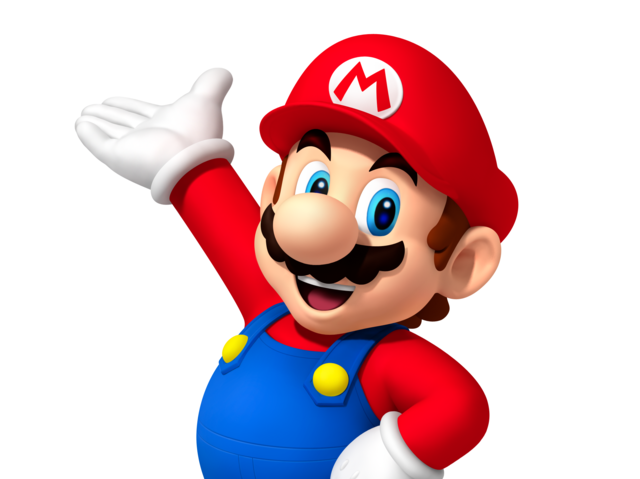 "It's Mario's M symbol from ""Super Mario Brothers""!"