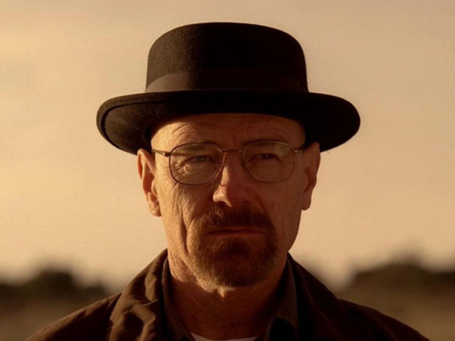 "It's Heisenberg from ""Breaking Bad""!"