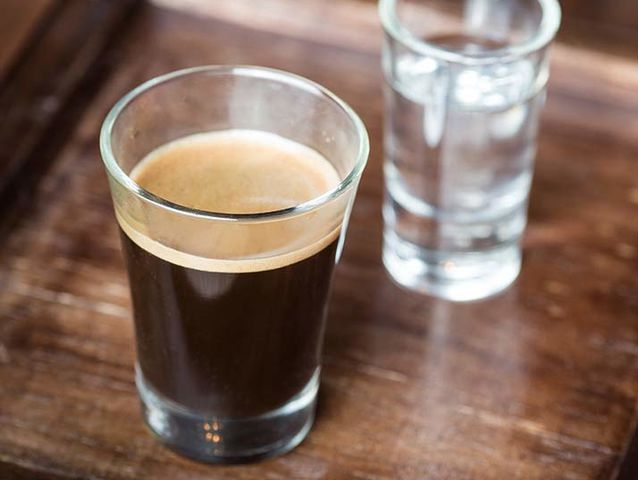 It's an Espresso Doppio (or a double shot)!