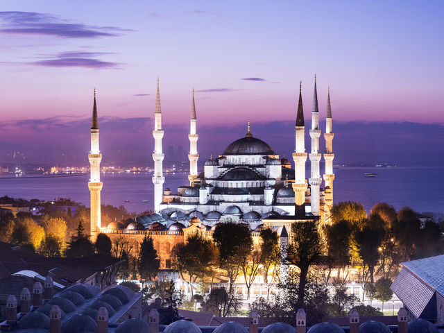 Which two continents is Istanbul, Turkey in?