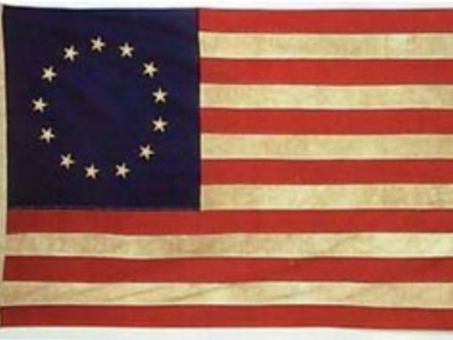 The stars on the original American flag were in a circle so all the Colonies would appear equal. Those colonies were Connecticut, Delaware, Georgia, Maryland, Massachusetts, New Hampshire, New Jersey, New York, North Carolina, Pennsylvania, Rhode Island, South Carolina, Virginia