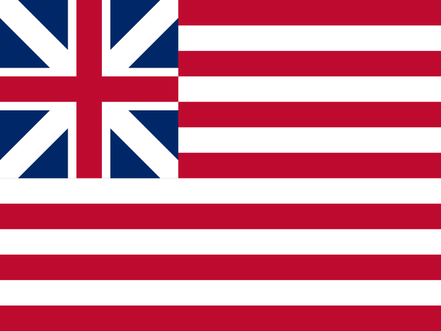 The stars on the original American flag were in a circle so all the Colonies would appear equal.