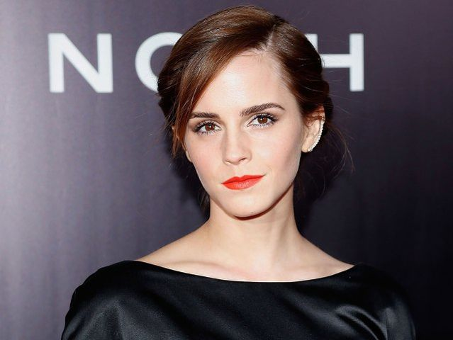 Emma Watson is an Aries! Other Aries celebrities include Robert Downey, Jr., Hugh Hefner, and Elton John!