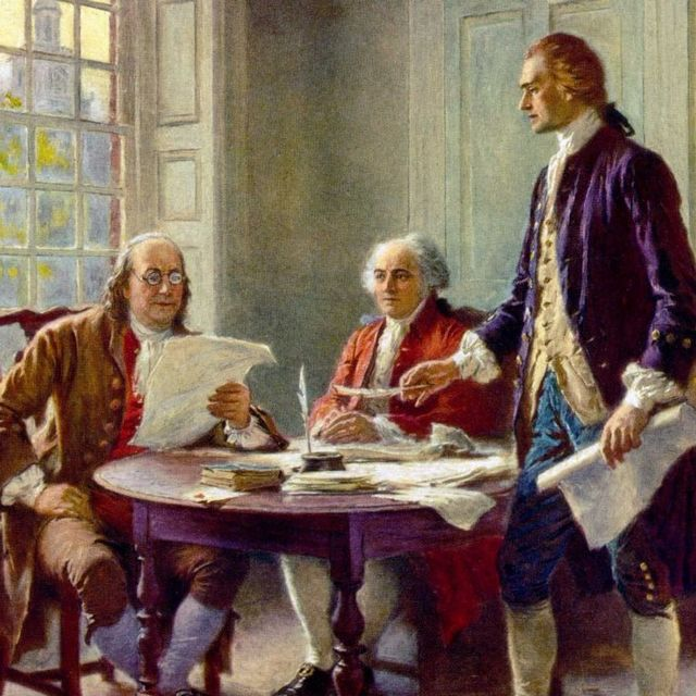 When did the Declaration of Independence really take control on the nation?