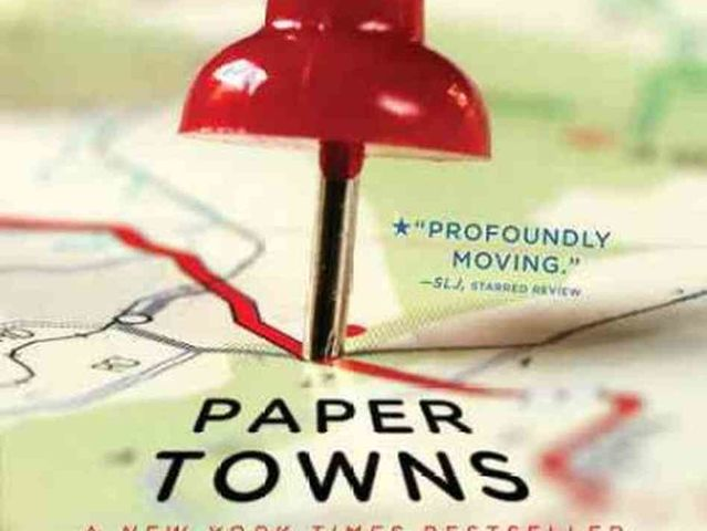 The answer is John Green's fab 'Paper Towns'!