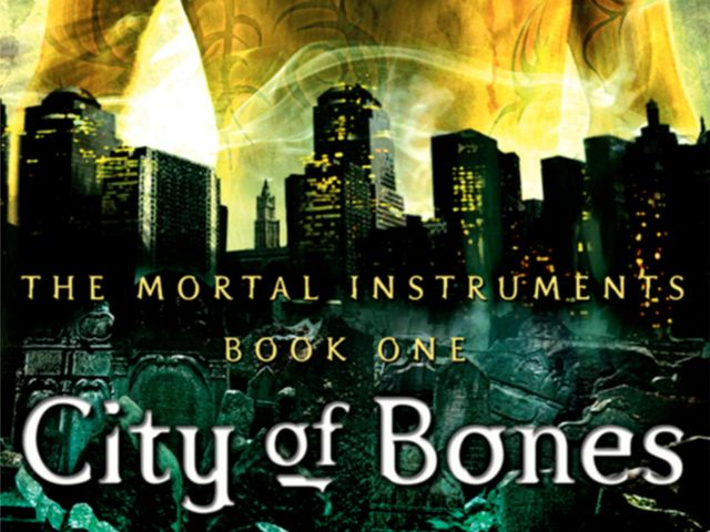 Did you figure out it was this Cassie Clare book? 'City of Bones'!