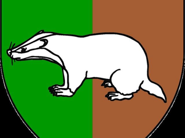 Which minor house features a white badger as its sigil?