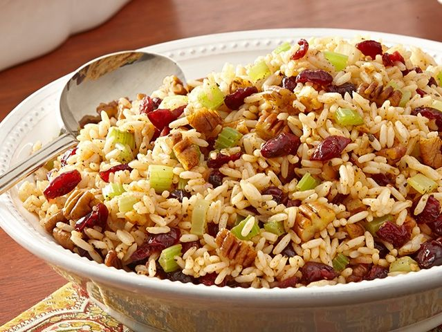 In _____________, rice is often used as the main ingredient in stuffing.