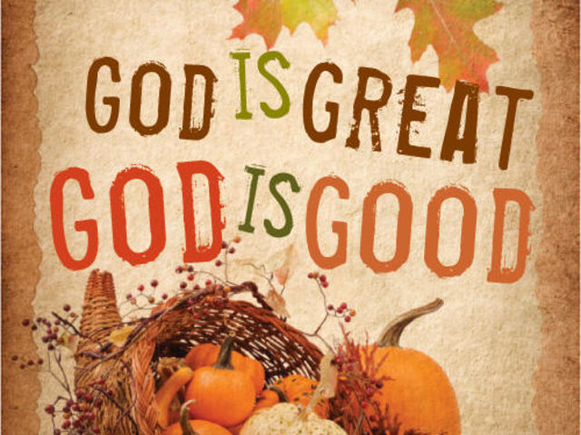 In ___________, Thanksgiving originated as a day giving thanks to God.