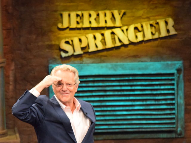 How many seasons has The Jerry Springer Show been taping?