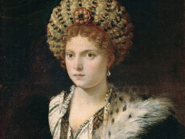 Titian did this portrait of a famous lady of the Italian Renaissance.