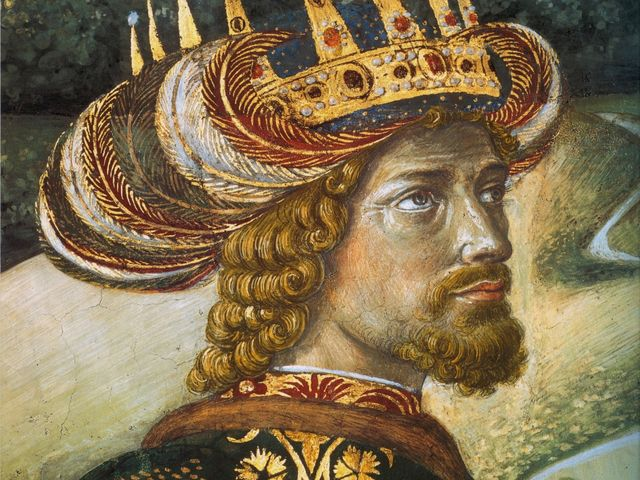 This Byzantine Emperor had his portrait painted by Benozzo Gozzoli.