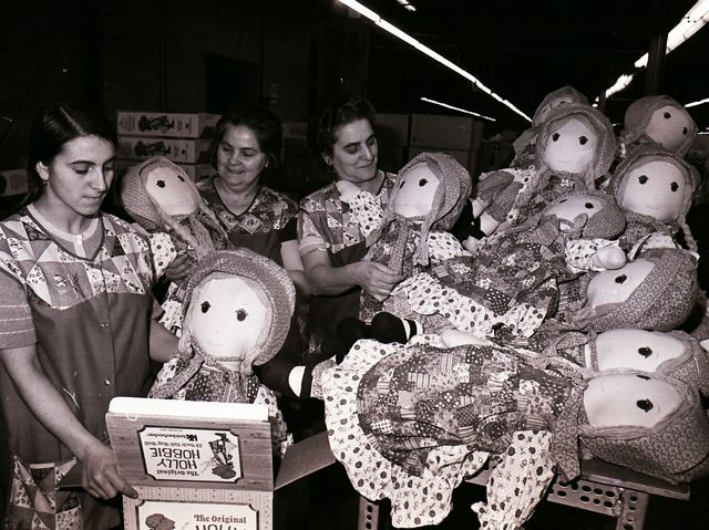 From 1968 to 1983, Knickerbocker Toys were made in Middlesex; which of the following stuffed toys was NOT made in their Middlesex County factory?