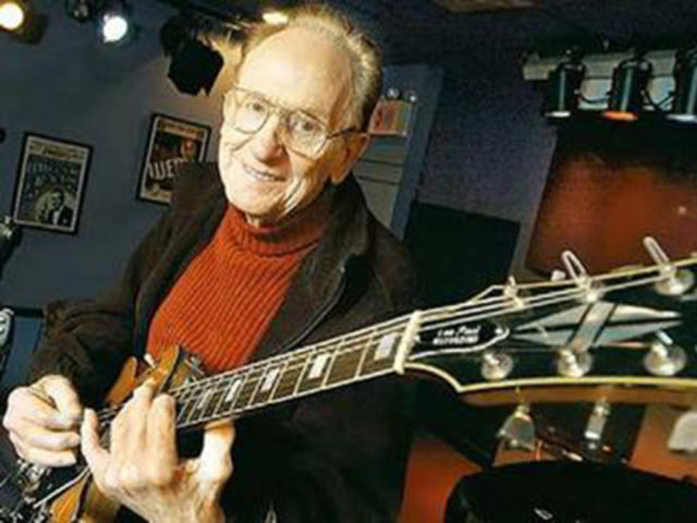 Les Paul invented the solid body electric guitar. The Gibson Les Paul sells for $6,500 at the Rock and Roll Hall of Fame store in Cleveland.