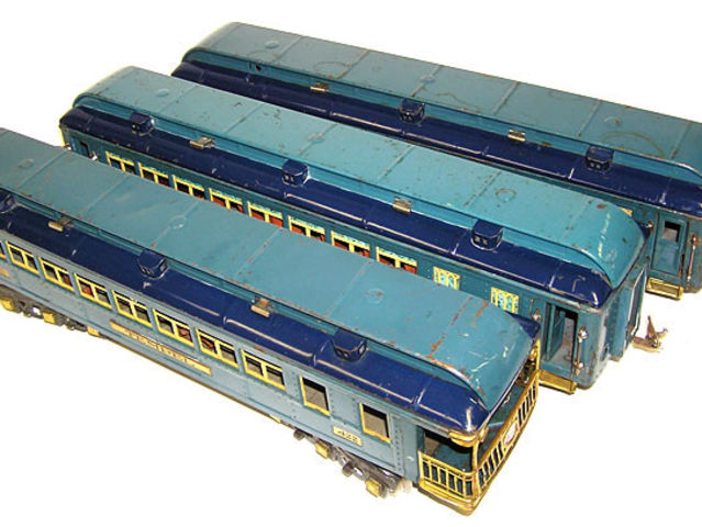 According to collectibles.answers.com, 420, 421 and 422 Blue Comet cars sell for $3,200 each in near-mint condition.