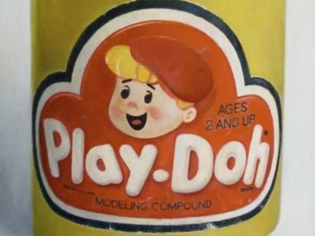 Until nursery school teacher Kay Zufall of Dover had the brainstorm to come up with Play-Doh, the product it grew out of was originally used as: