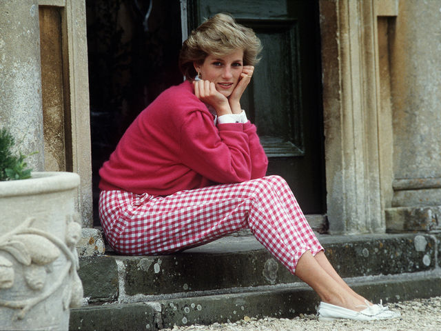 What was Lady Diana's middle name?