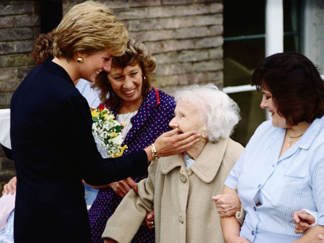 Diana supported over 100 charities before her untimely death.