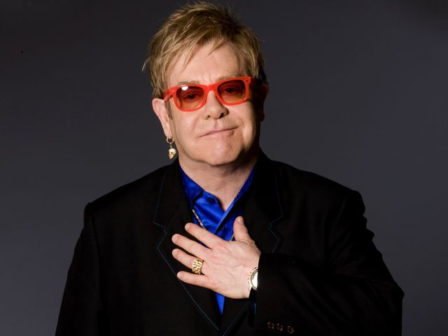 Diana considered Elton John to be a close, personal friend.