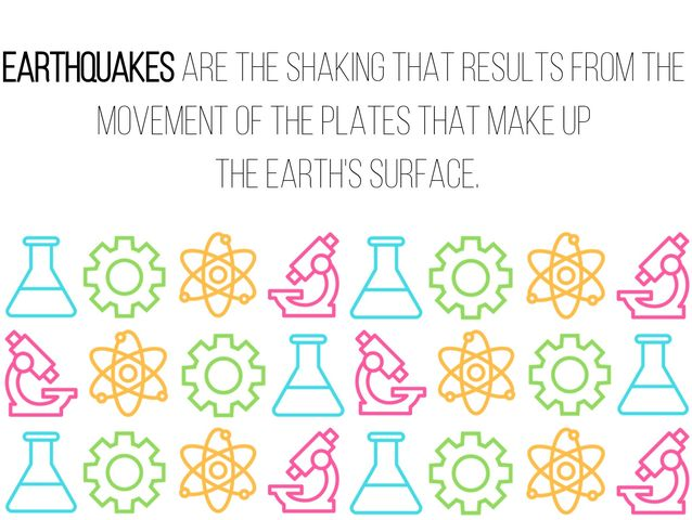 """The shaking that results from the movement of the plates that make up the Earth's surface."""