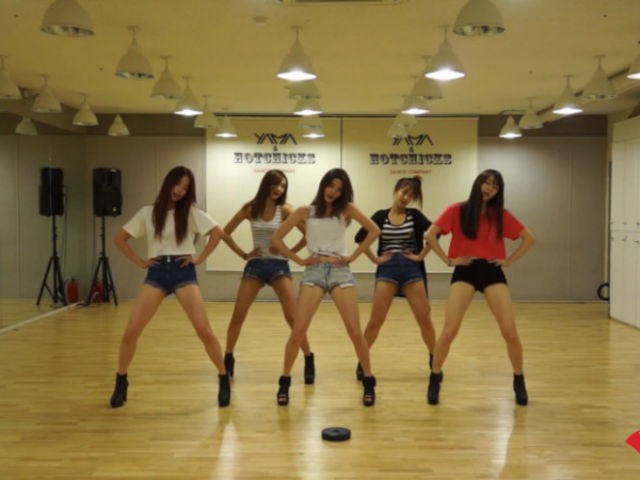 Which EXID dance practice video is this?
