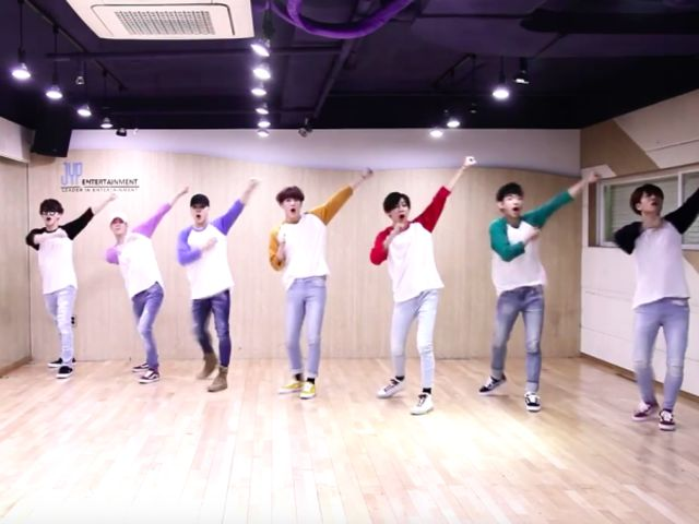 Which GOT7 dance practice video is this?