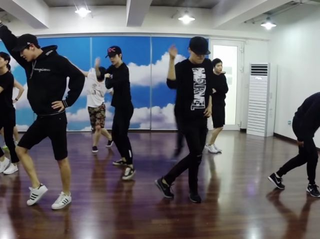 Which EXO dance practice video is this?