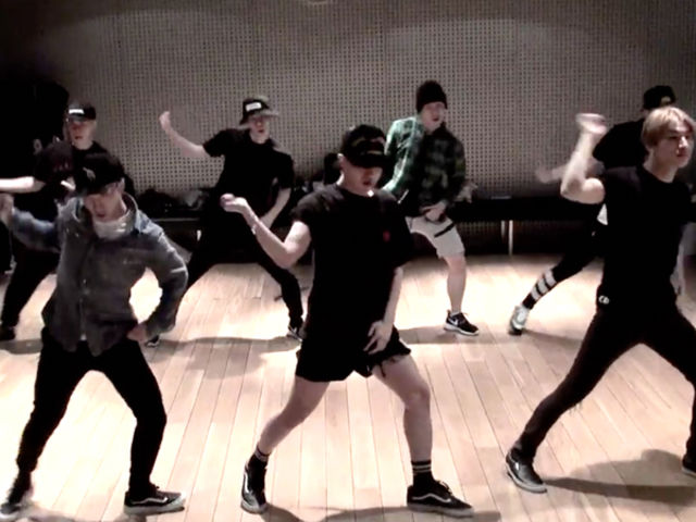 Which BIGBANG dance practice video is this?