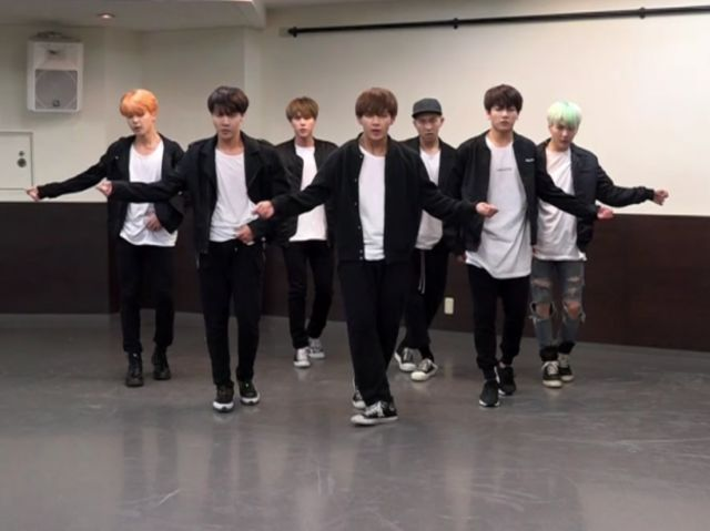 Which BTS dance practice video is this?
