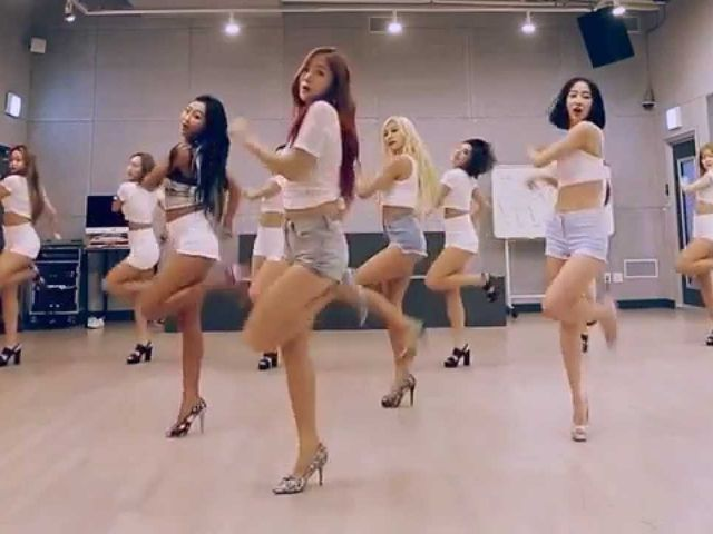 Which SISTAR dance practice video is this?