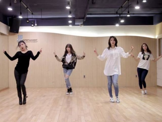 Which miss A dance practice video is this?