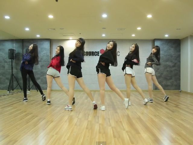 Which GFRIEND dance practice video is this?