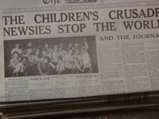How much does the cost of a paper go up for the newsies, causing their strike?