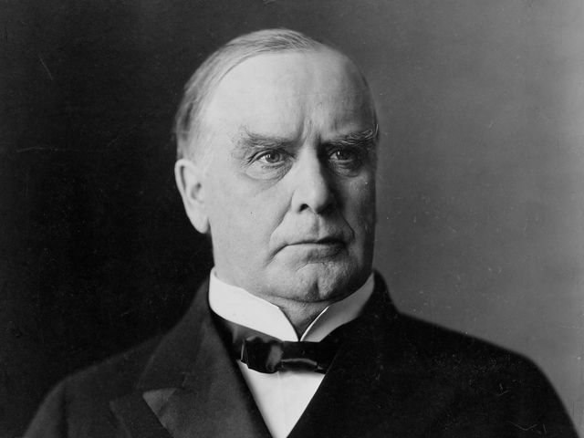 William McKinley was more of a.....