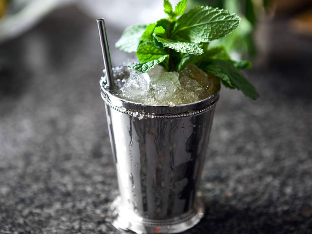 T.R was all about the mint julep. He even had them specially made for him when he was not in the Whitehouse.