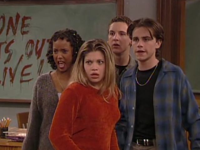 "If you were locked in a school with a ""Boy Meets World"" character, who would it be?"