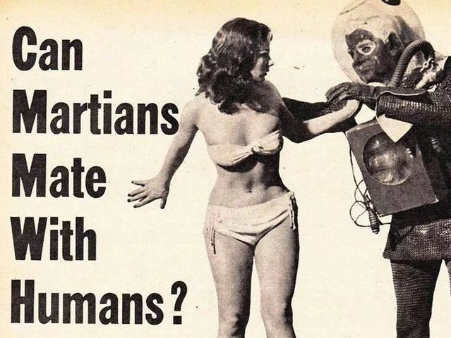 The best evidence that we're ALREADY Martians comes from: