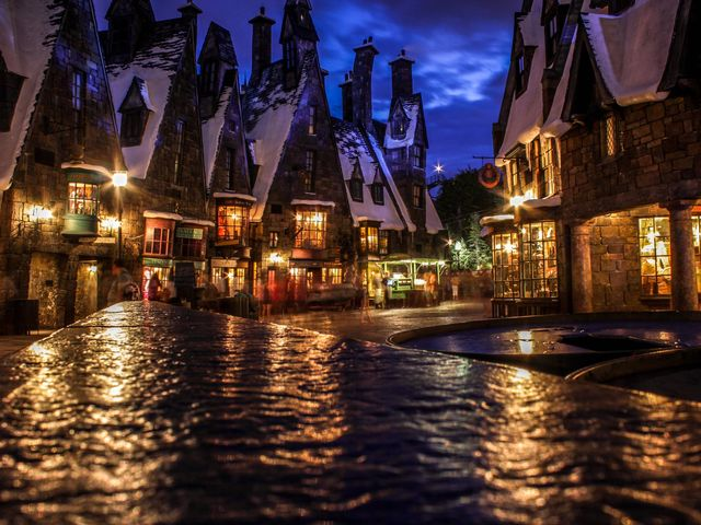 Where is your 'go to' hangout spot in Hogsmeade?