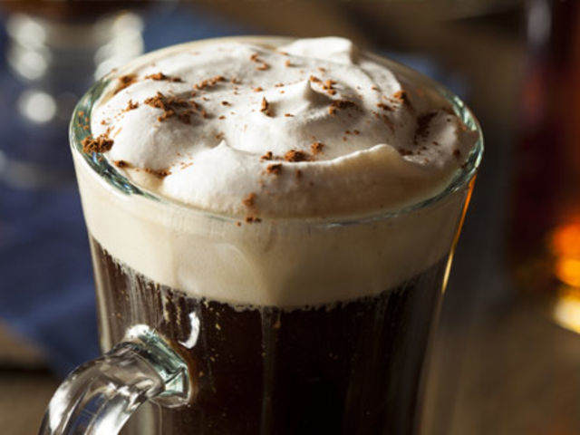 There's a long queue for some free Irish coffee... you're at the end of it. What do you do?