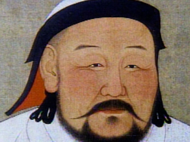 Ghengis Khan existed and was the founder of the Mongal empire, which became the largest contigious empire after his death.