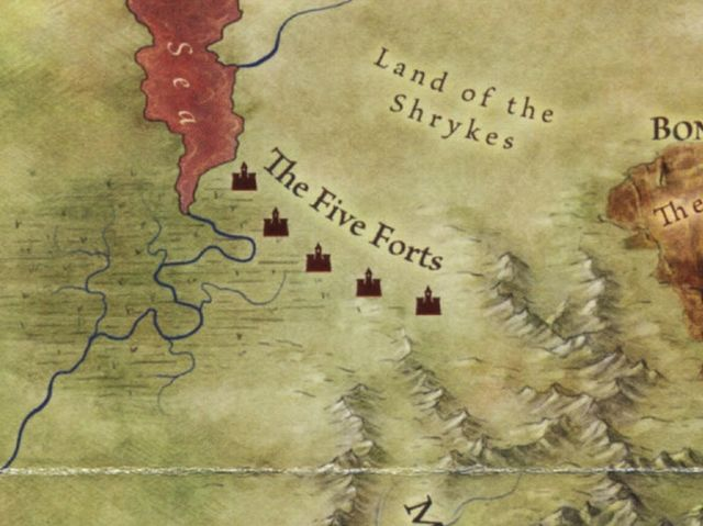 Answer: The Five Forts!