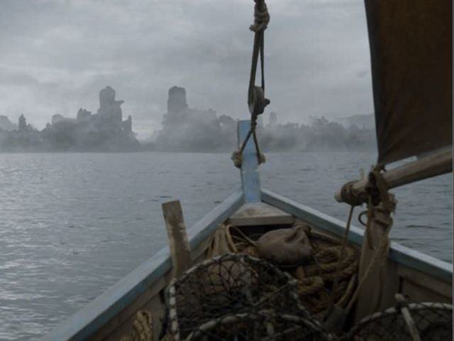 What is the sea route through Old Valyria called?