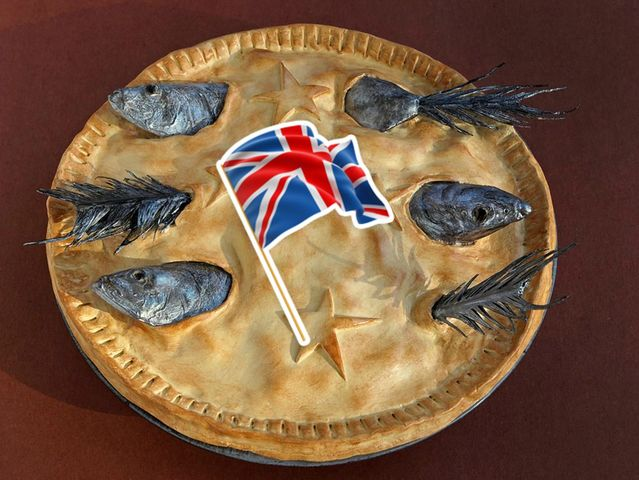 Stargazy Pie from England!