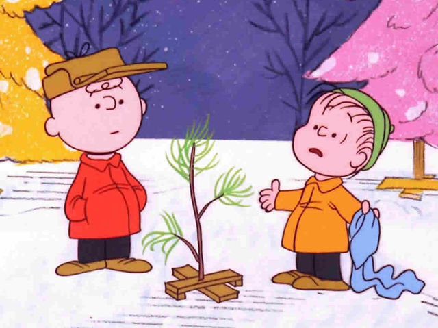 What major brand name pitched the idea of a Charlie Brown Christmas TV special?